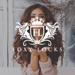 Hair extensions by Foxy Locks