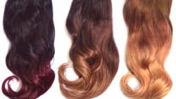 how to ombre hair extensions at home