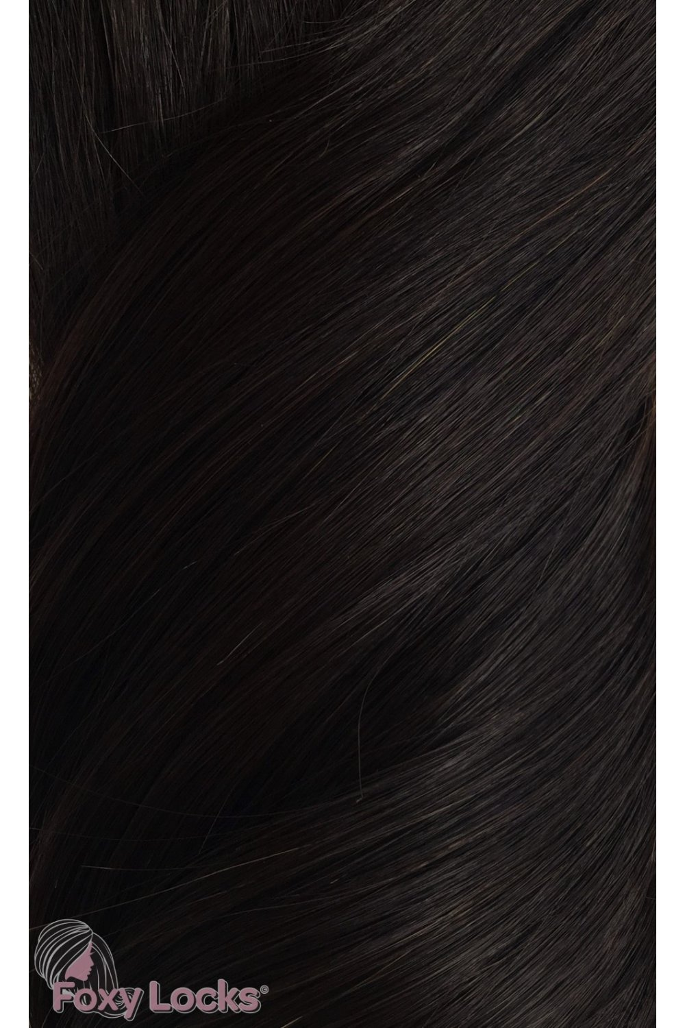 Brown Black 1b Deluxe 20 Clip In Human Hair Extensions 165g