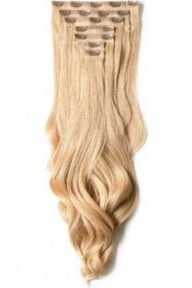"Caramel - Luxurious 24"" Seamless Clip In Human Hair Extensions 280g"