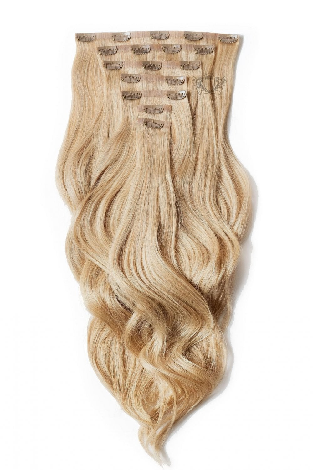 Caramel Superior Seamless 22 Quot Clip In Human Hair