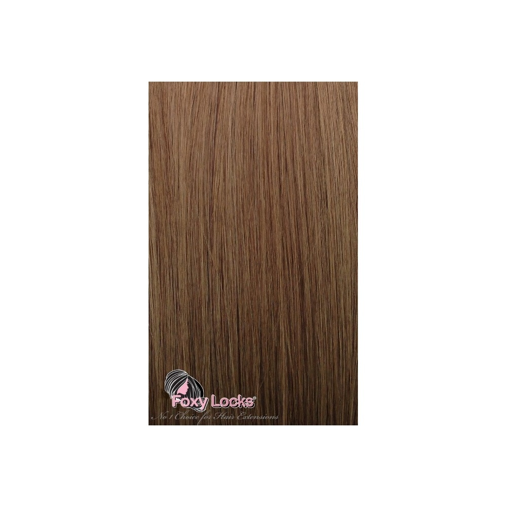 Chestnut Brown Luxurious 24 Clip In Human Hair Extensions 280g