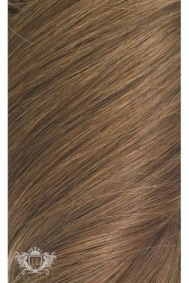 "Chestnut - Deluxe 20"" Seamless Clip In Human Hair Extensions 165g"