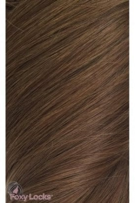 "Chestnut - Superior 20"" Clip In Human Hair Extensions 230g"