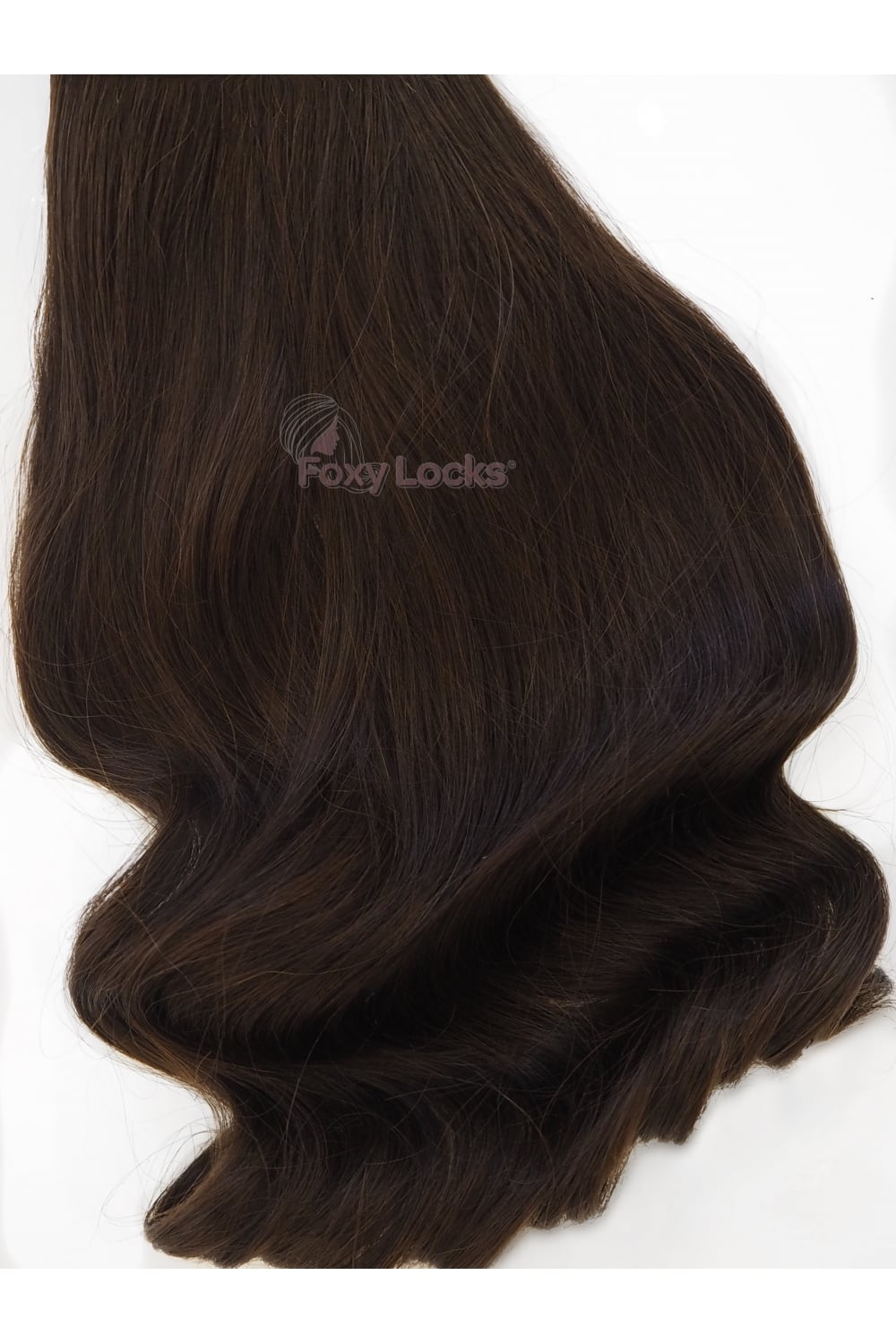 Cocoa Superior 20 Clip In Human Hair Extensions 230g