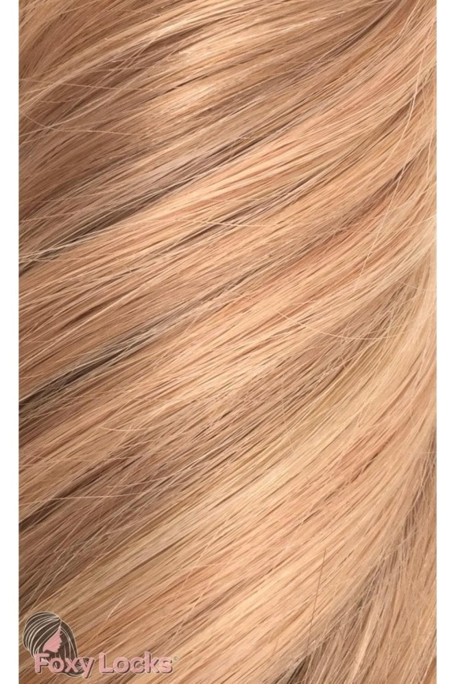 "Copper Blonde - Volumizer 20"" Clip In Human Hair Extensions 50g"