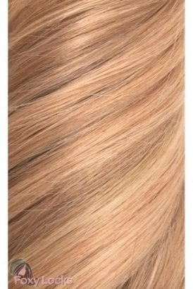 """Copper Blonde - Volumizer 20"""" Clip In Human Hair Extensions 50g"""