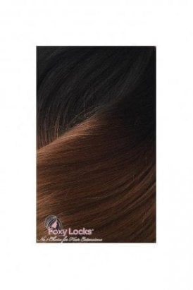 "Dark Espresso Ombre - Luxurious 24"" Clip In Human Hair Extensions 280g"