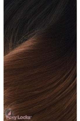 "Dark Espresso Ombre - Regular 18"" Clip In Human Hair Extensions 125g"
