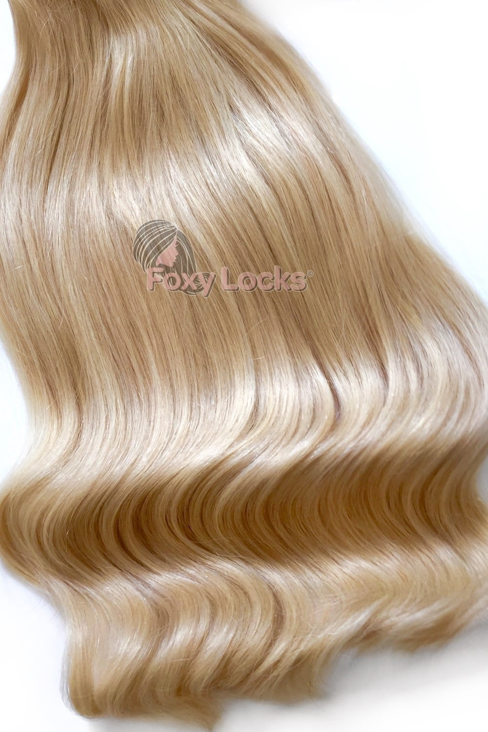 Hollywood Blonde Deluxe 20 Clip In Human Hair Extensions 165g