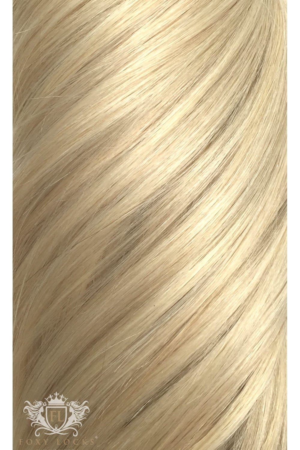 Hollywood Blonde Seamless Deluxe 20 Clip In Human Hair Extensions