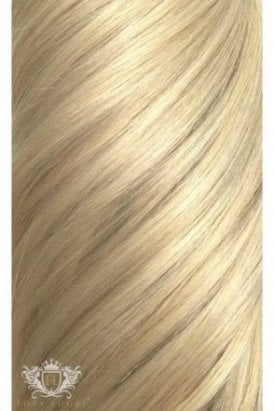 "Hollywood Blonde - Regular Seamless 18"" Clip In Human Hair Extensions 125g"