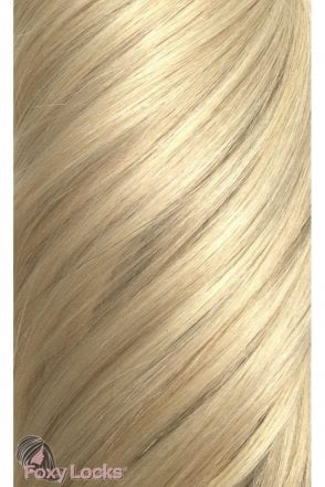 "Hollywood Blonde - Volumizer 20"" Clip In Human Hair Extensions 50g"