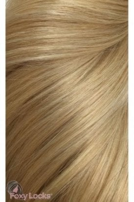 "Honey Blonde - Deluxe 20"" Clip In Human Hair Extensions 165g"