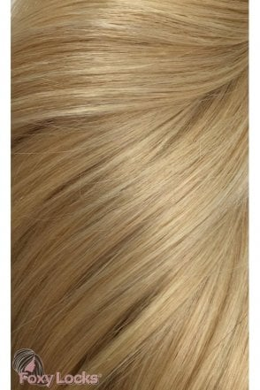 "Honey Blonde - Volumizer 20"" Clip In Human Hair Extensions 50g"