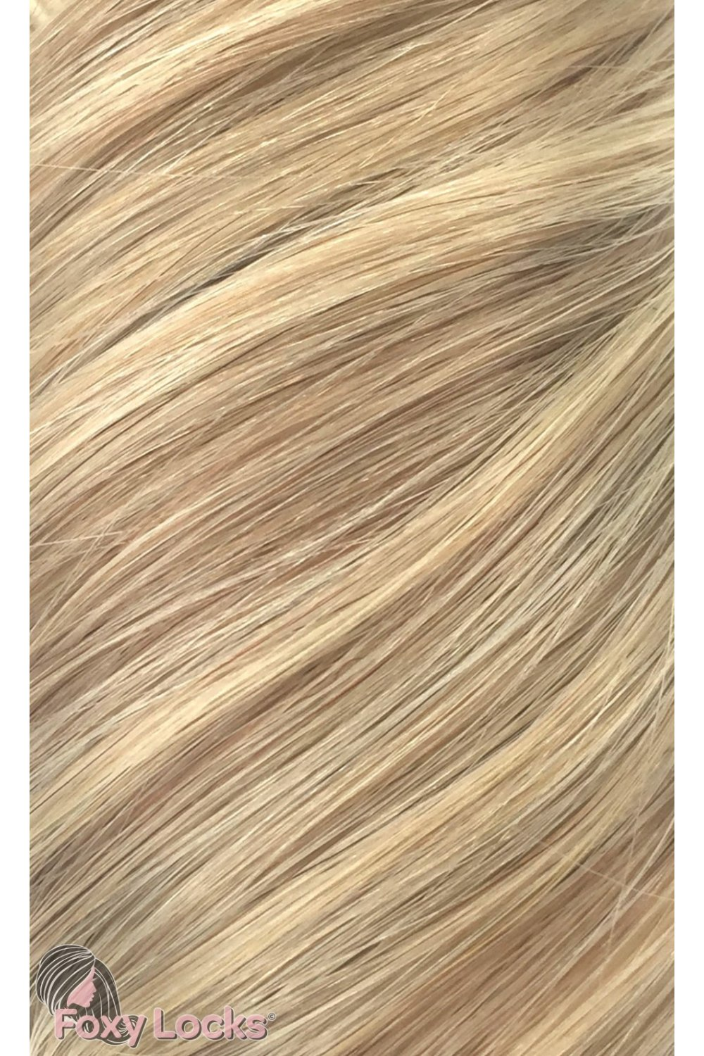 Latte Blonde Deluxe 20 Clip In Human Hair Extensions 165g