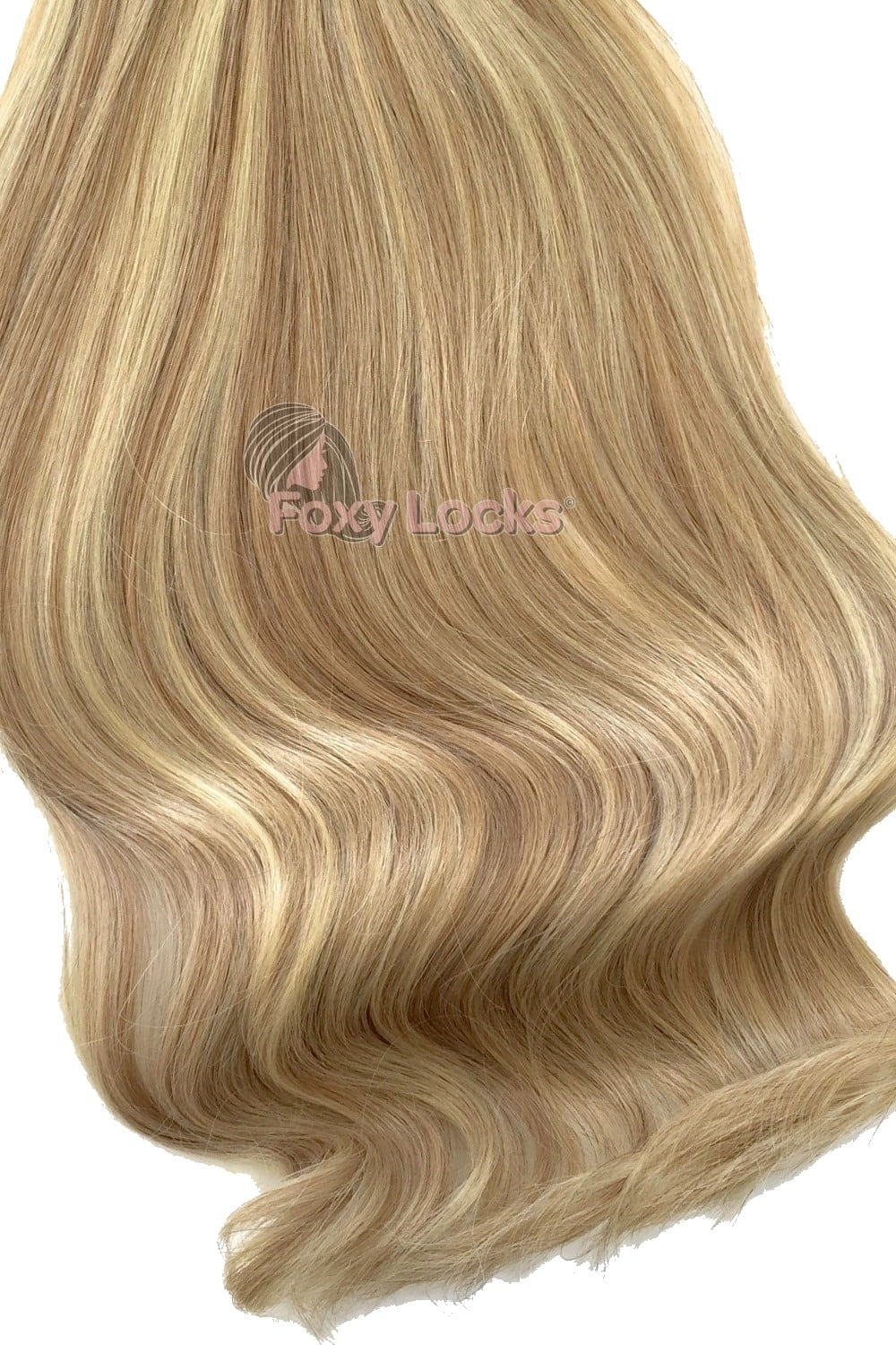 Latte Blonde Luxurious 24 Clip In Human Hair Extensions 280g