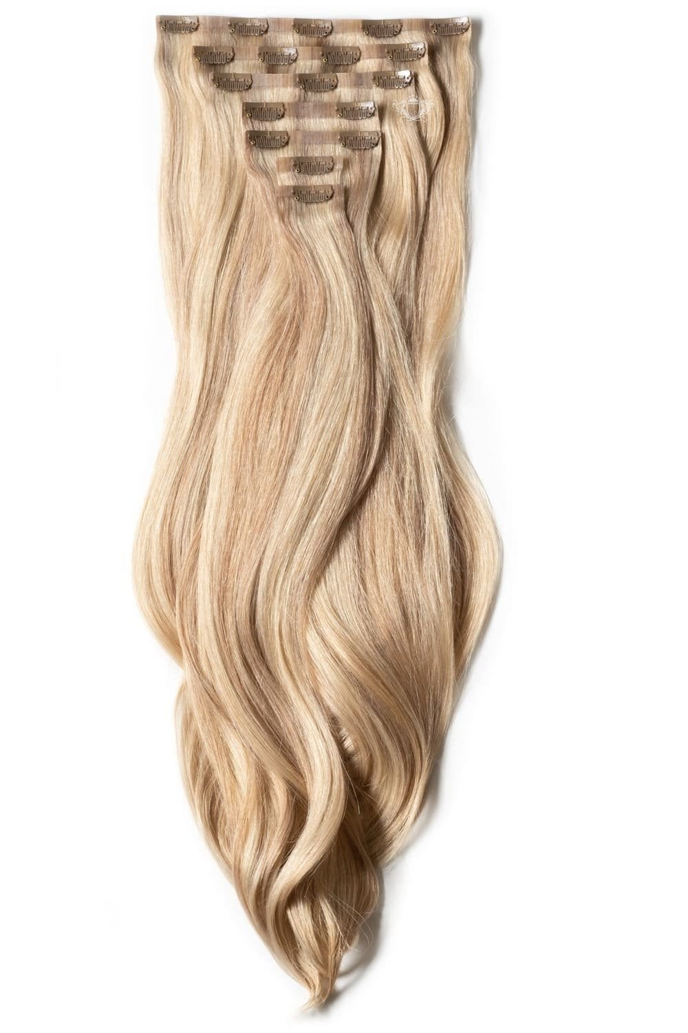 Latte Luxurious Seamless 24 Clip In Human Hair Extensions 280g