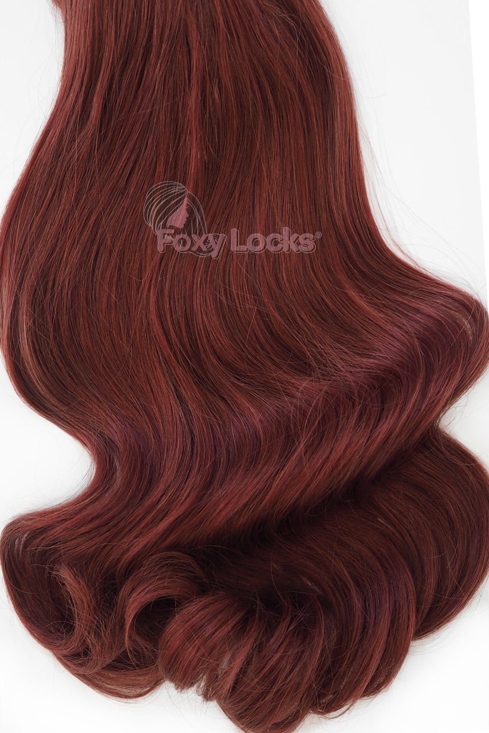 Mahogany Red #33 - Deluxe 20\' Clip In Human