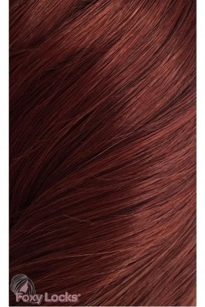 "Mahogany - Luxurious 24"" Clip In Human Hair Extensions 280g"