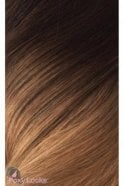 "Mocha Toffee Ombre - Deluxe 20"" Clip In Human Hair Extensions 165g"