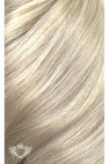 "Platinum Blonde - Luxurious 24"" Seamless Clip In Human Hair Extensions 280g"