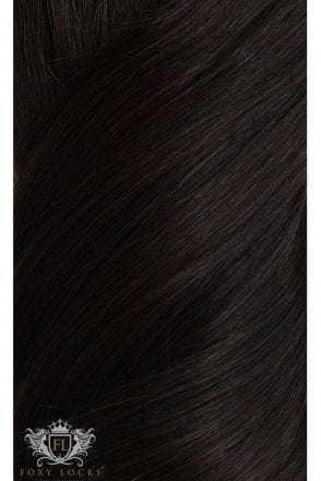 "[PRE ORDER] Brown Black - Superior 22"" Seamless Clip In Human Hair Extensions 230g"