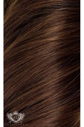 "[PRE ORDER] Chocolate - Deluxe 20"" Seamless Clip In Human Hair Extensions 165g"