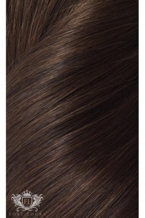 "[PRE ORDER] Cocoa - Deluxe 20"" Seamless Clip In Human Hair Extensions 165g"