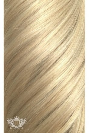 """Hollywood Blonde - Deluxe 20"""" Seamless Clip In Human Hair Extensions 165g"""