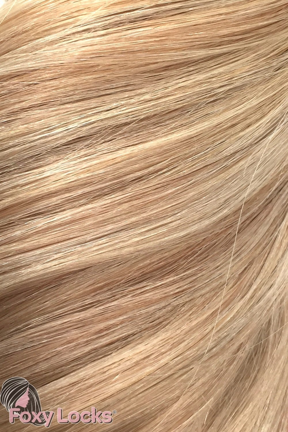 Sandy Blonde Highlights Regular Clip In Human Hair Extensions 125g
