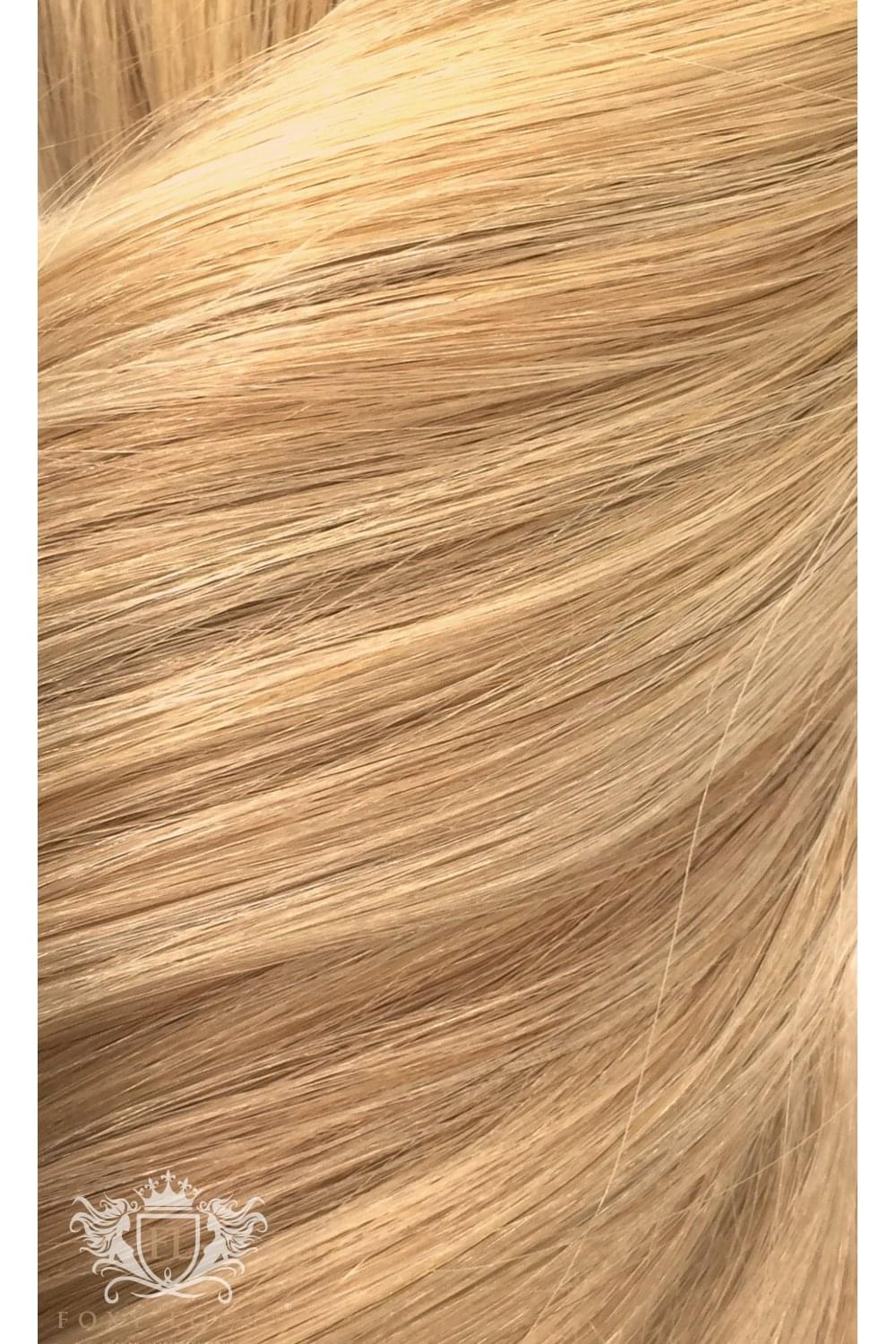Sandy Blonde Superior Seamless 22 Clip In Human Hair Extensions 230g