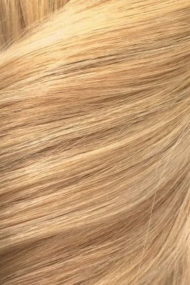 "Sandy Blonde - Volumizer 20"" Seamless Clip In Human Hair Extensions 50g"
