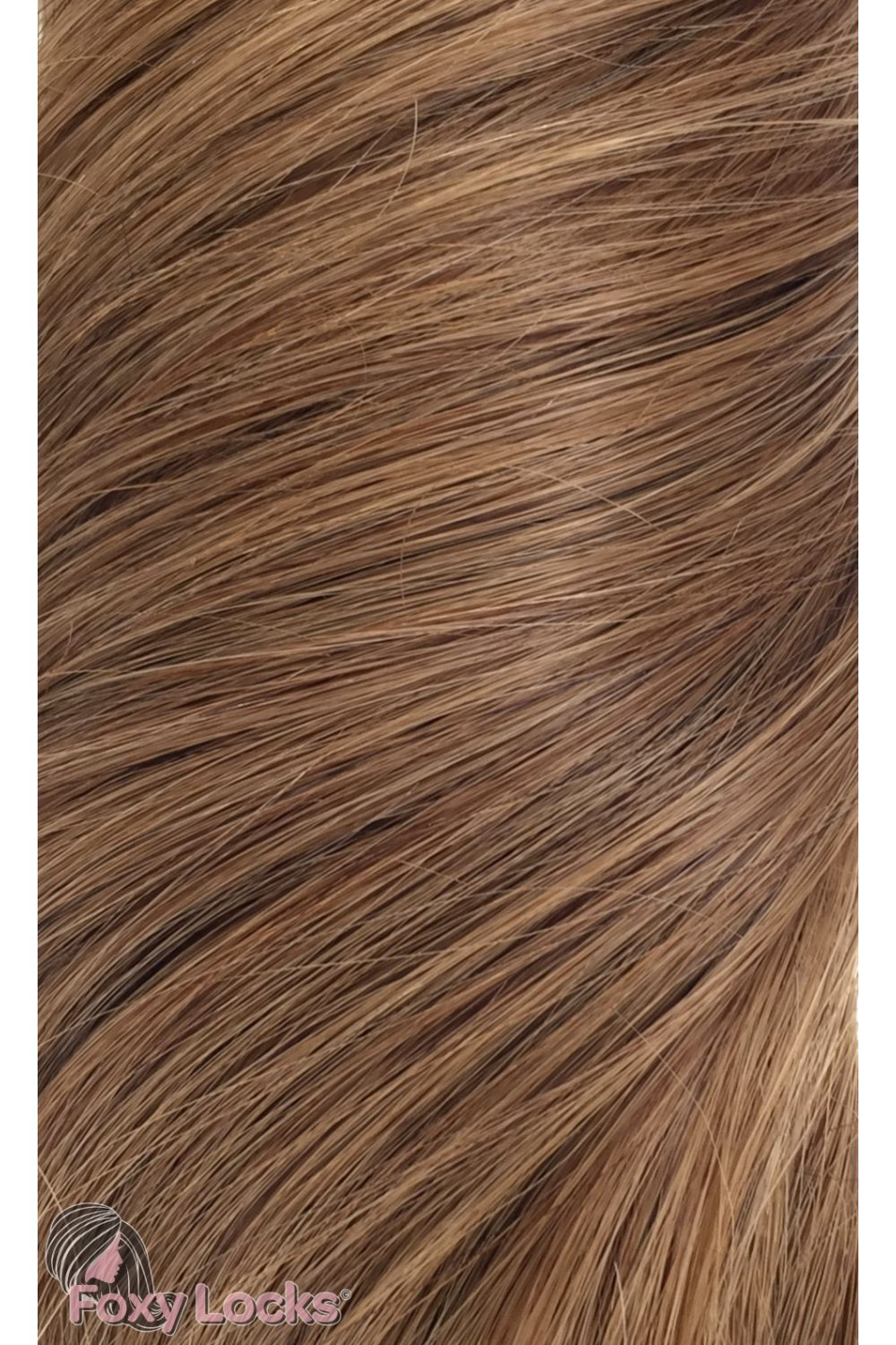 Sunkissed Brown 8 Luxurious 24 Clip In Human Hair Extensions 280g
