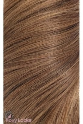 """Sunkissed Brown - Regular 18"""" Clip In Human Hair Extensions 125g"""