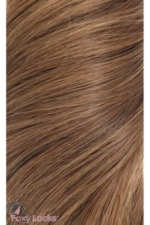 "Sunkissed Brown - Superior 20"" Clip In Human Hair Extensions 230g"