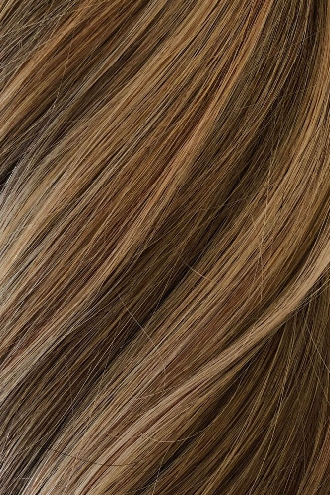 "Sunkissed Highlights - Volumizer 20"" Seamless Clip In Human Hair Extensions 50g"