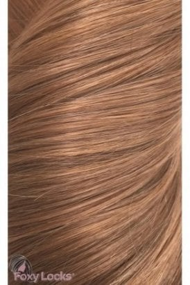 "Toffee - Deluxe 20"" Clip In Human Hair Extensions 165g"