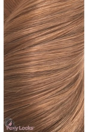 "Toffee - Volumizer 20"" Clip In Human Hair Extensions 50g"